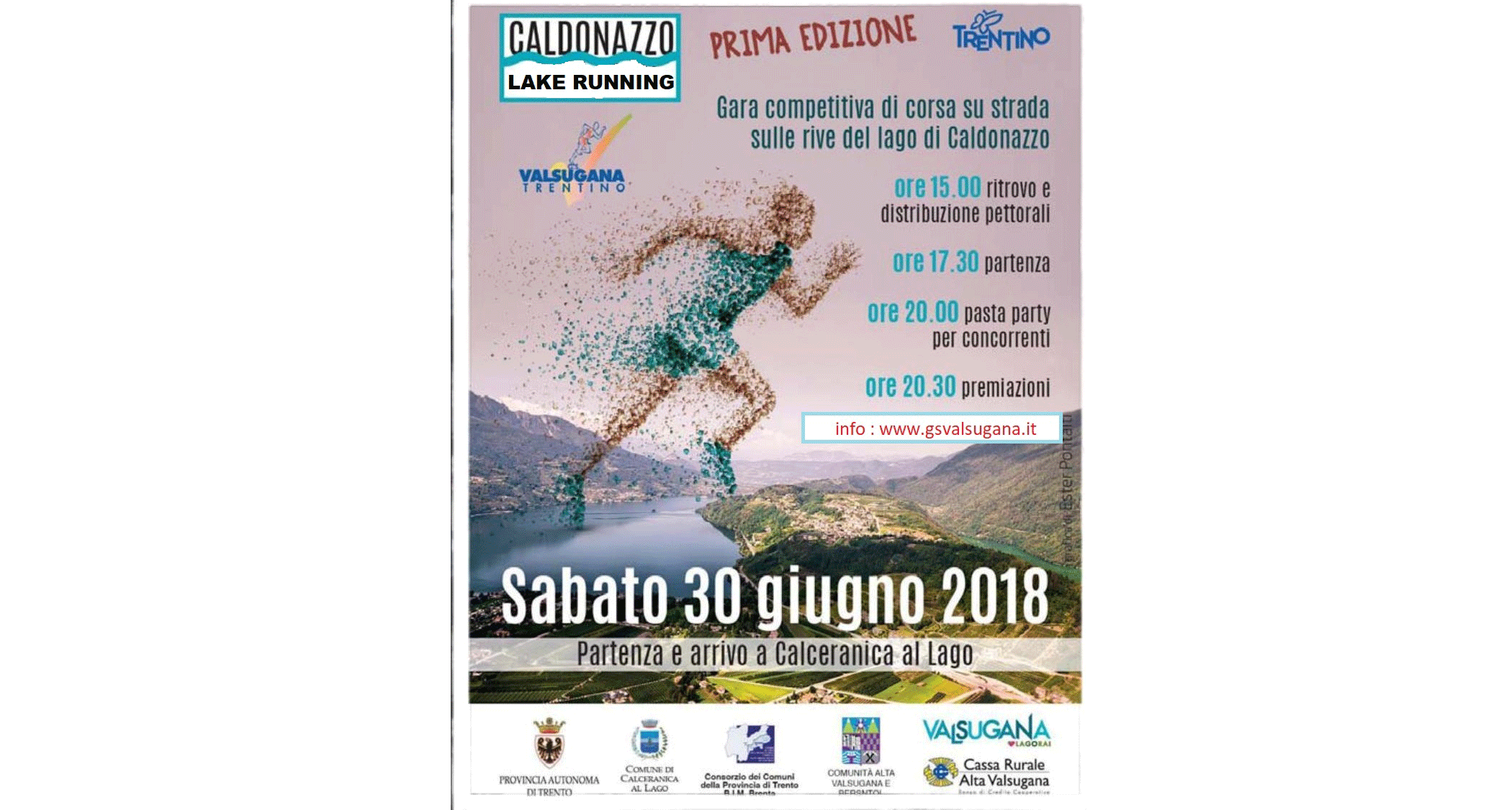 Caldonazzo Lake Running